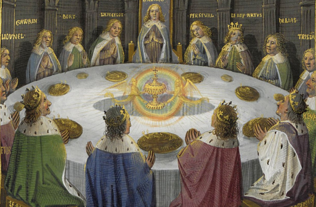 King Aurthur's knights of the round table